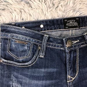 Express Jeans - ReRock For Express Boot Cut Jeans Size 2